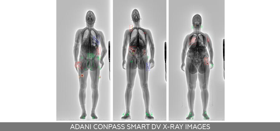 ADANI CONPASS SMART DV X-ray-images